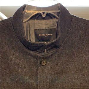 Banana Republic Jackets & Coats - Banana Republic Charcoal Grey Jacket
